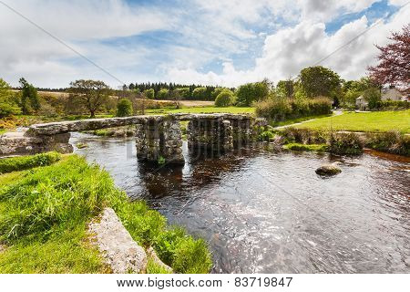 Postbridge Dartmoor National Park Devon