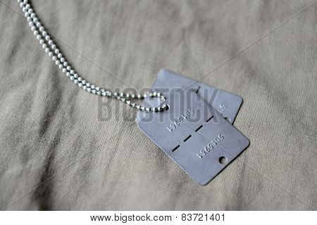 Military Service Identity Discs
