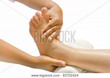 Foot Massage, Oil Spa Foot Treatment.
