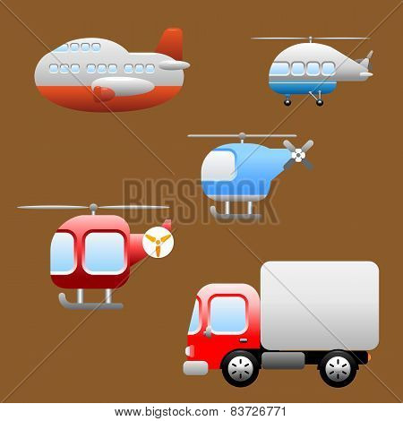 Transports / Vehicles icons