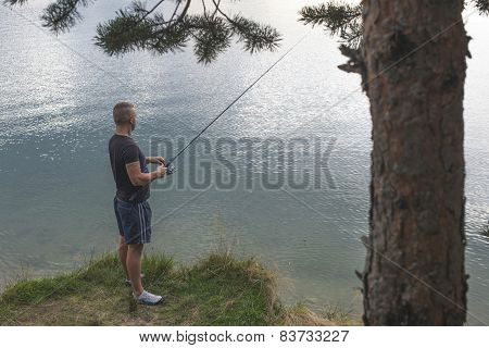 Man With Fishhook