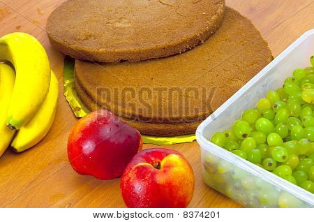 Ingredients For Fruit Pie
