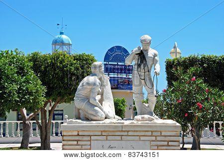 Fisherman statue, Garrucha.