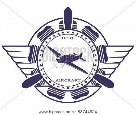 Best aircraft. Stamp