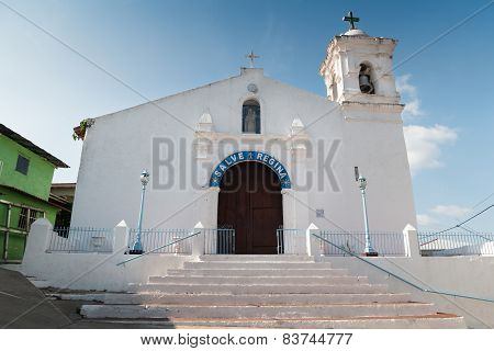 Hispanic Catholic Church In Isla Taboga Panama City
