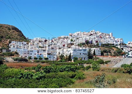 White village, Mojacar.