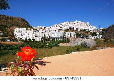 White town, Mojacar.