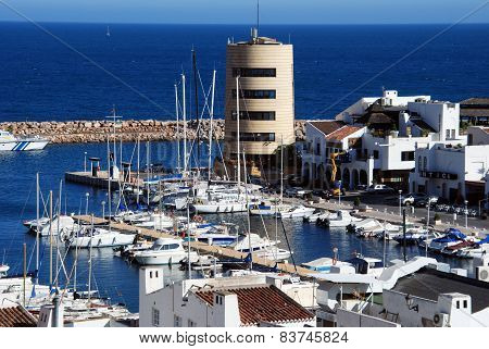 Roquetas de Mar Harbour.