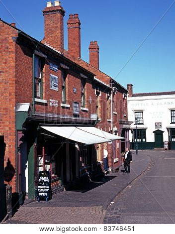 Victorian shopping street, Dudley.