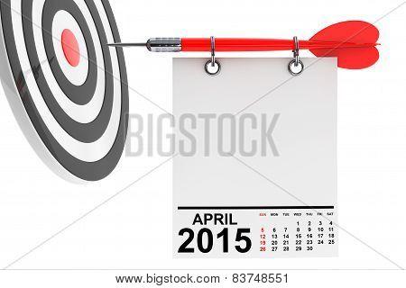 Calendar April 2015 With Target