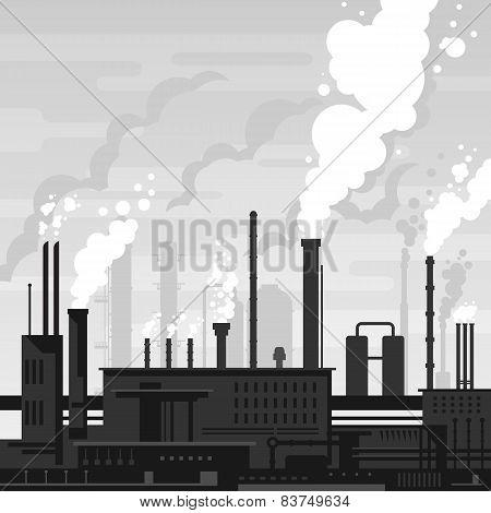 Industrial Plant Landscape