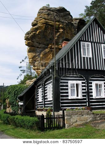House in Czech Switzerland