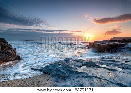 Sunset At Constantine Bay