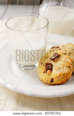 Cookies With Delicious Milk