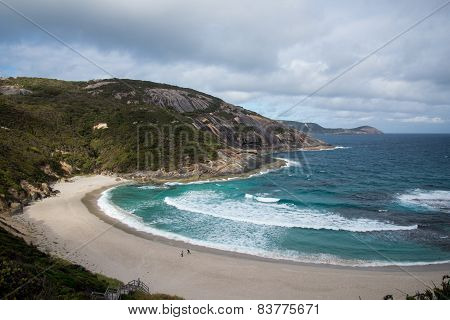 Misery Beach in Torndirrup National Park, Albany
