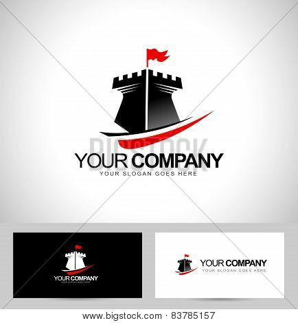 Castle Tower Logo Design