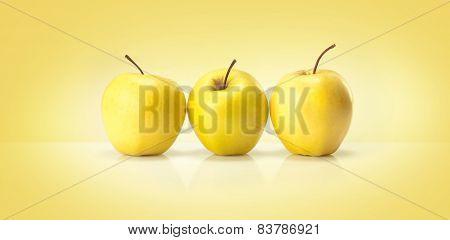 golden apples fruits