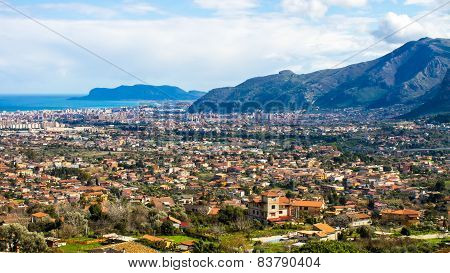 Cityscape Of Palermo, In Italy