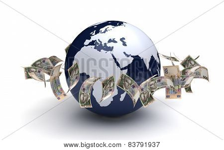 Global Business Ukrainian Hryvnia Currency