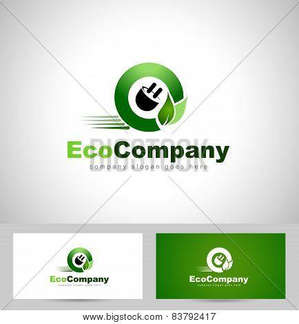Eco Electricity Logo