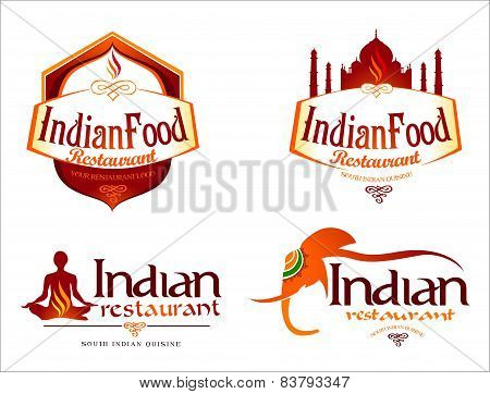 Indian Food Logo