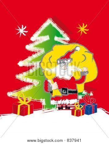 santa claus - presents