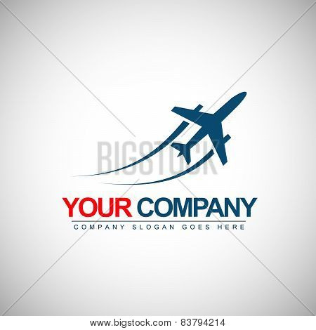 Airplane Logo Design