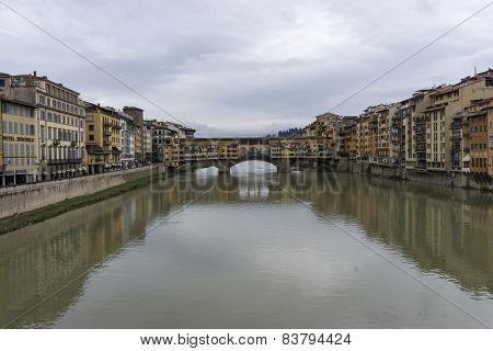 Scenery Near Ponte Vecchio