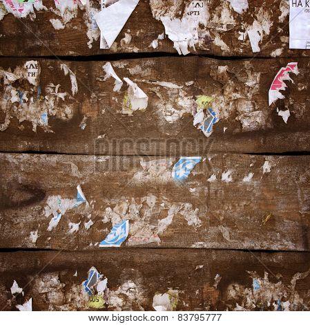 Grunge Wood Close-up Background