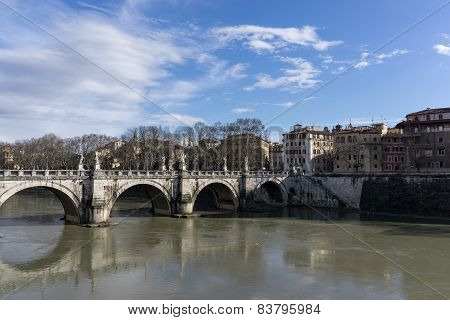 View Of St Angelo Bridge