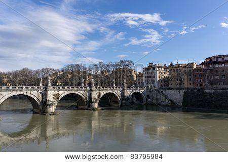View Of St Angelo Bridge