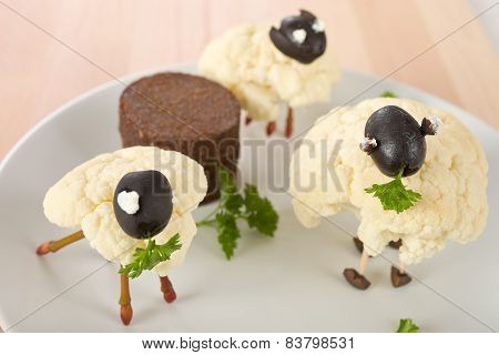 Cauliflower lamb