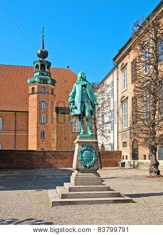 Denmark. Copenhagen. Peder Griffenfeld Statue