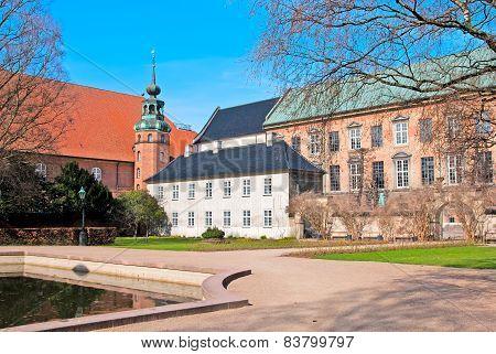 Denmark. Copenhagen. Royal Library Garden