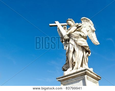 Angel With Cross, Sant'angelo Bridge, Rome