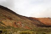 picture of naturel  - Rock formations in the National Park del Teide - JPG