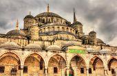 picture of constantinople  - Sultan Ahmet Mosque  - JPG