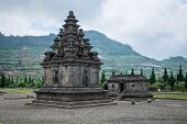 foto of arjuna  - Ancient Hindu temple on the Dieng plateau Indonesia - JPG