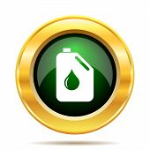 pic of oil can  - Oil can icon - JPG