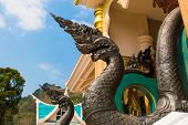 picture of budha  - King Of Nagas Statue - JPG