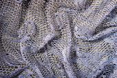 image of rayon  - Folded and Silver Grey Lace Elegant Background - JPG