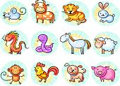 picture of zodiac sign  - Chinese zodiac signs - JPG