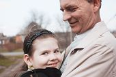 picture of niece  - Emotional portrait of hugging relatives - JPG