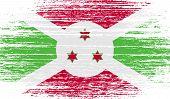 pic of burundi  - Flag of Burundi with old texture - JPG