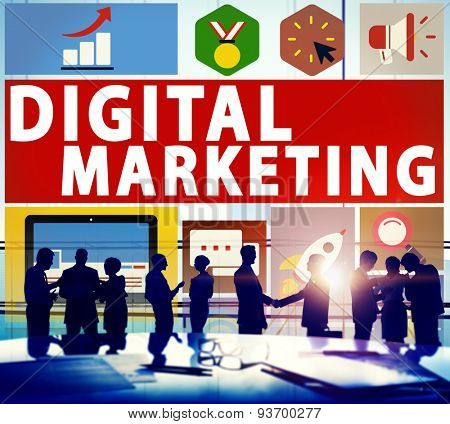 Digital Marketing Commerce Campaign Promotion Concept