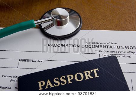 Vaccination Documentation Worksheet