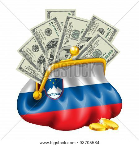 Economics and business purse Slovenia