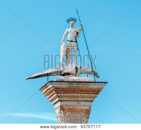 Venice. Piazzetta San Marco,