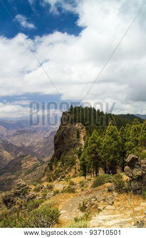 Inland Central Gran Canaria, Caldera De Tejeda