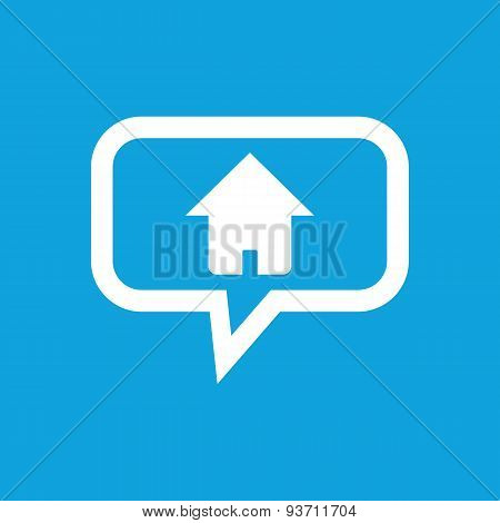 Home message icon